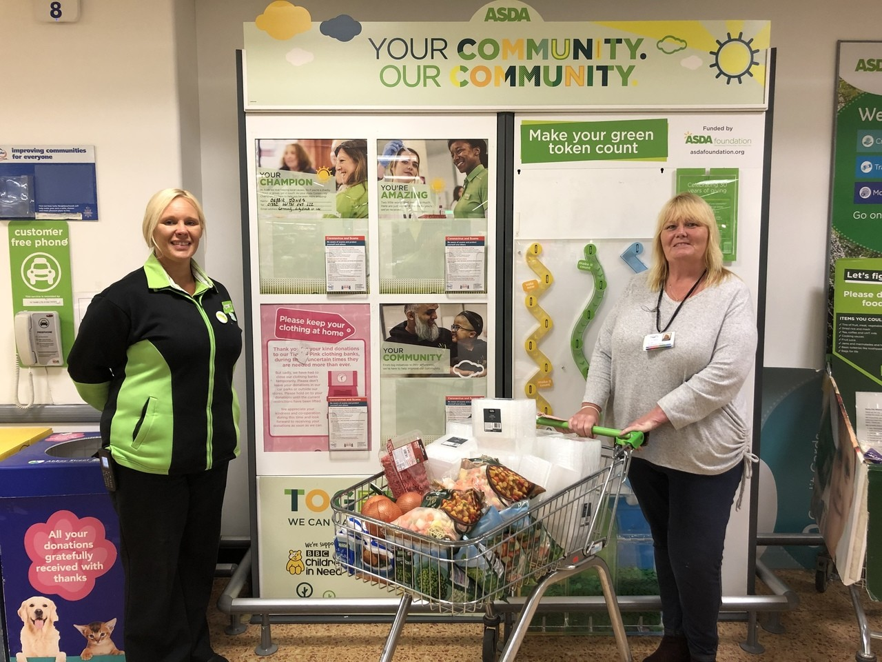 Donation to Age UK Derby & Derbyshire  | Asda Derby