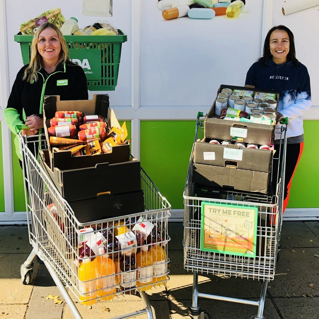 Foodbank donation  | Asda Waterlooville