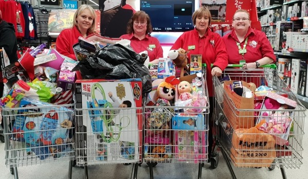 Gift appeal at Asda Southport