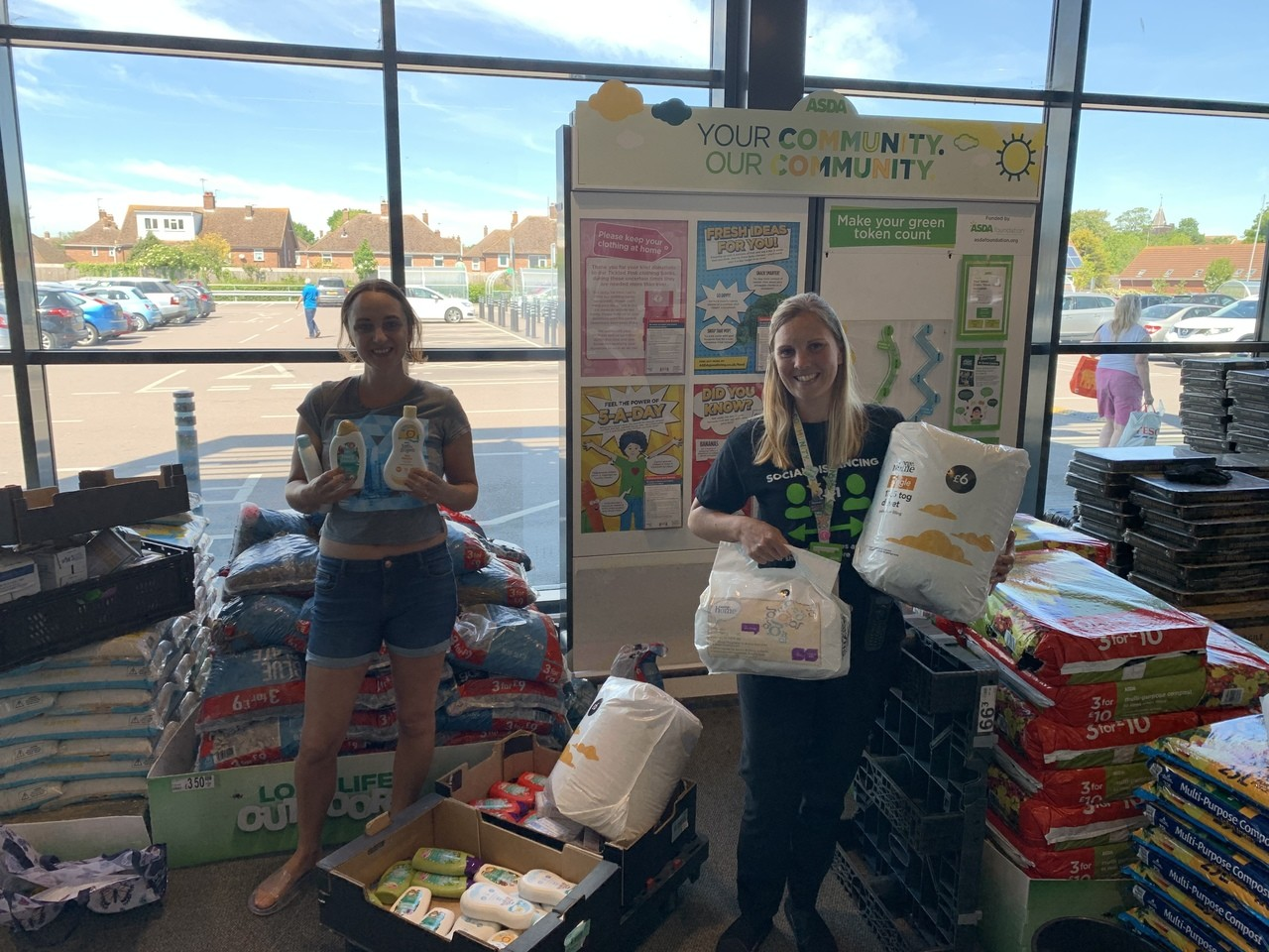 Baby Bank Tendring donation | Asda Clacton-on-Sea