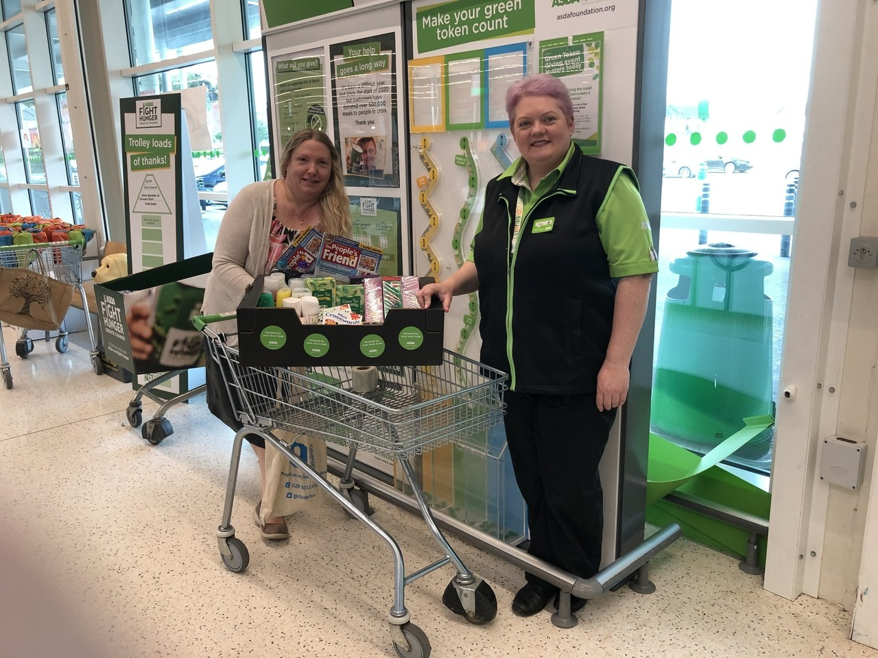 Donation to local senior citizens  | Asda Portadown