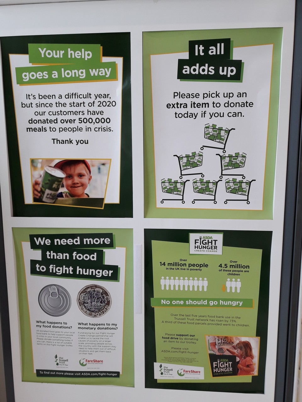 Supporting Fight Hunger in Swinton  | Asda Swinton