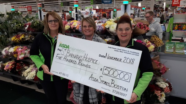Asda Boston Green Token Giving