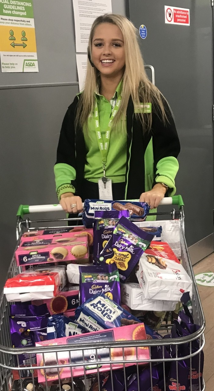 Catherine House Care Home donation   Asda Frome