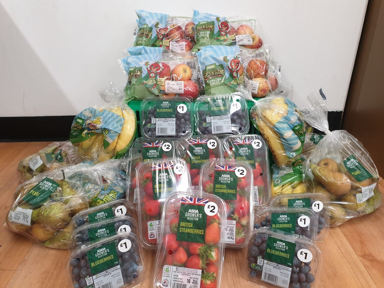 School fruit donations | Asda Newton Abbot