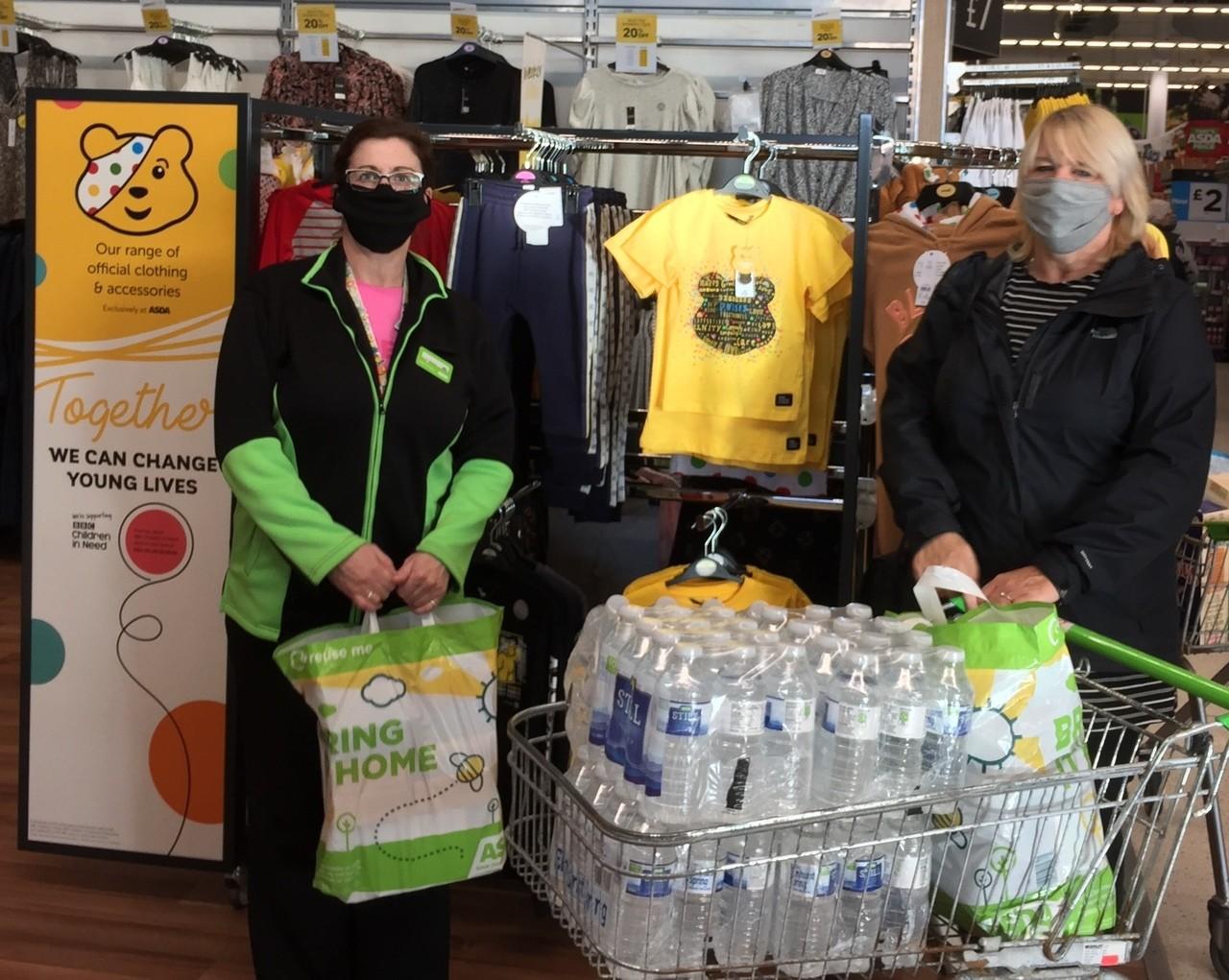 Donation to Fraserburgh Academy | Asda Fraserburgh