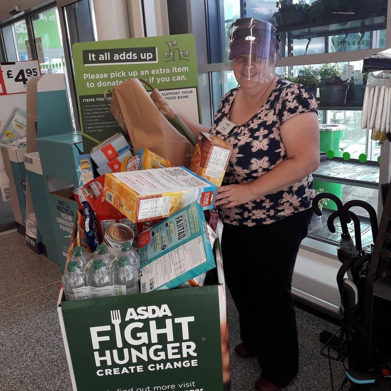 Foodbank thanks | Asda Reddish
