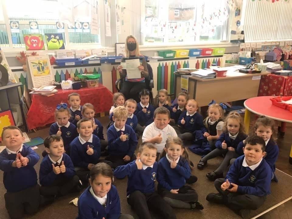 St Nicholas' Primary School receives £1,000 grant   Asda Downpatrick