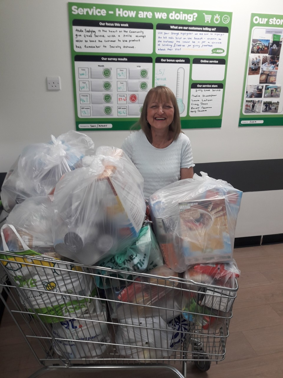 Food bank donation | Asda Sedgley