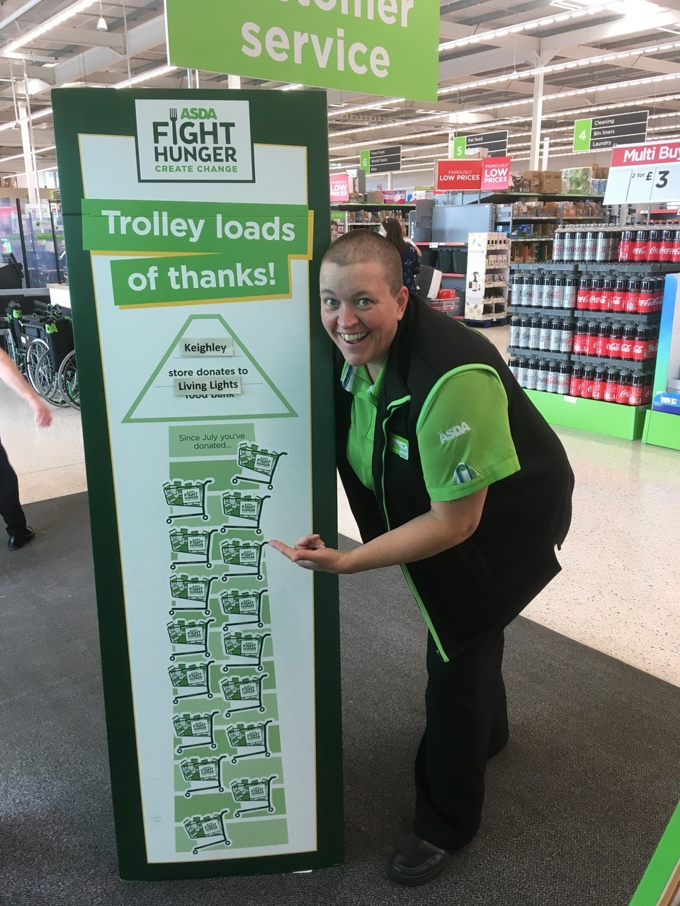 Fantastic food donations  | Asda Keighley
