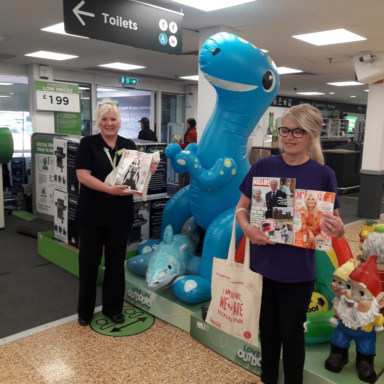 Local hospital accepts new reading materials  | Asda Barrow