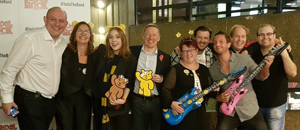 Community champion Michelle attends BBC Children in Need fundraiser