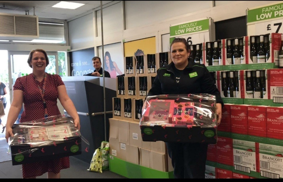 Donation of treats to children's ward | Asda Brierley Hill
