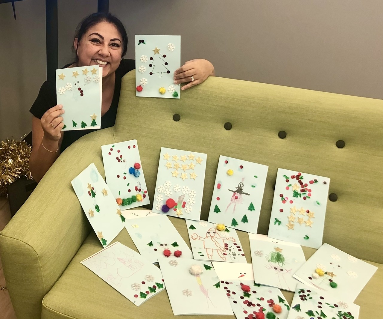 Christmas cards for care home residents  | Asda Leicester Abbey Lane