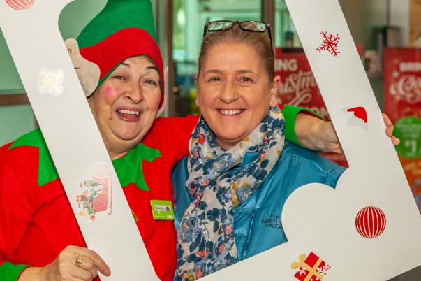 Asda Bootle supports Elf Day for the Alzheimer's Society
