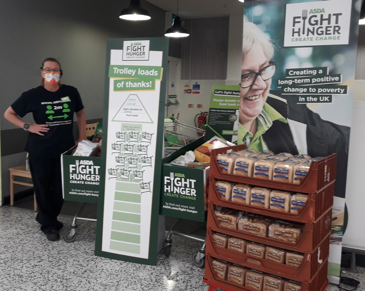 Carlisle Foodbank donations | Asda Carlisle