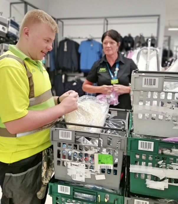 Jake thanks colleagues at our Wythenshawe store for having faith in him