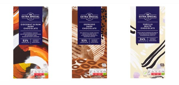 New Extra Special Chocolate Bars