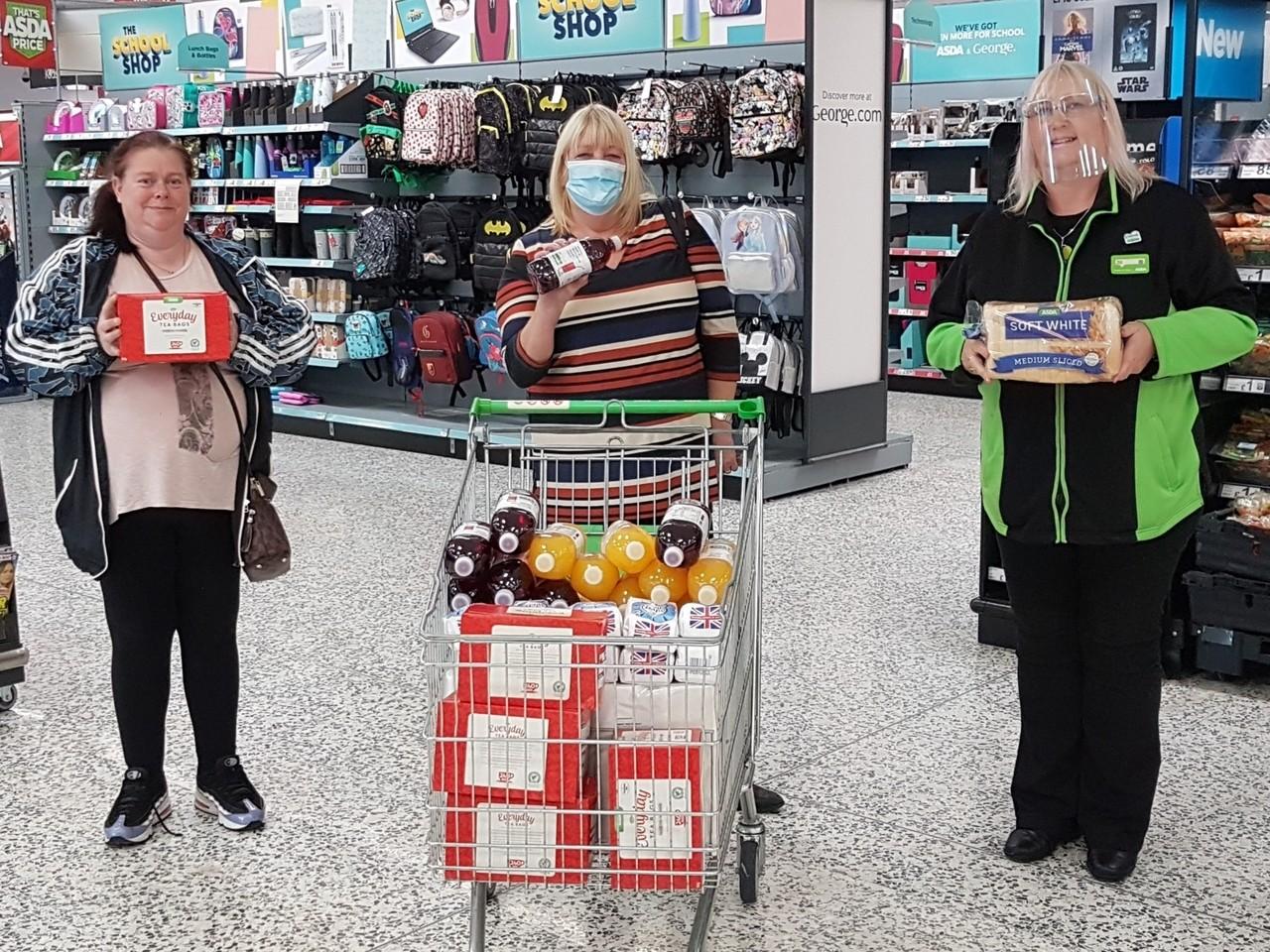 Food parcel support | Asda Pilsworth