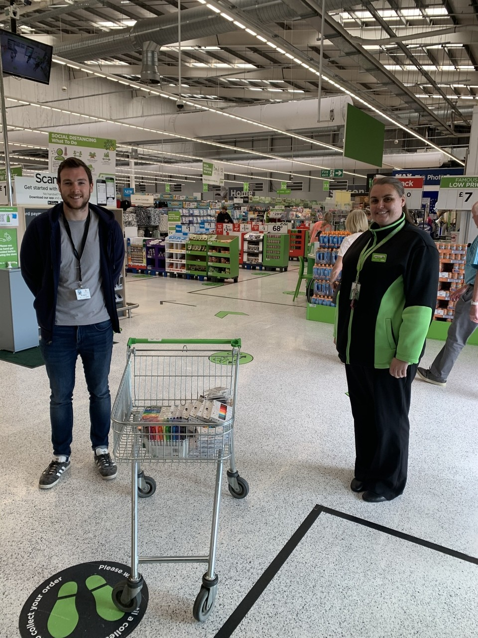 Donation to Hanover Street School | Asda Aberdeen Beach