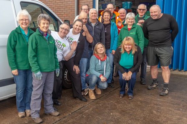 Wirral foodbank volunteers