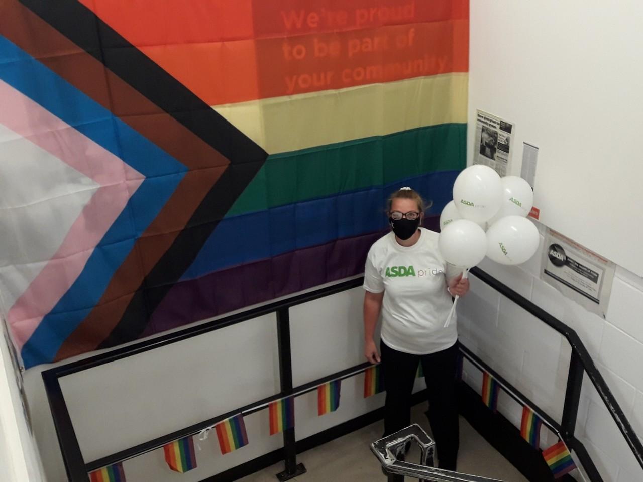 Marking Pride 2021 | Asda Boston