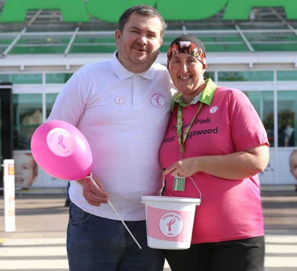 Dannii Connah from Asda Kingswood in Hull with husband Tony