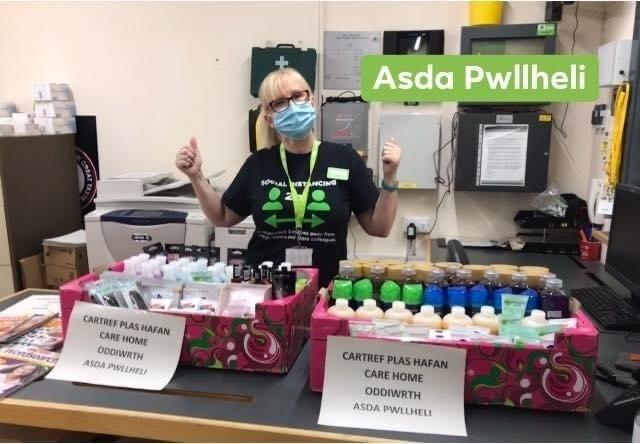 Asda Foundation grant for local care home | Asda Pwllheli