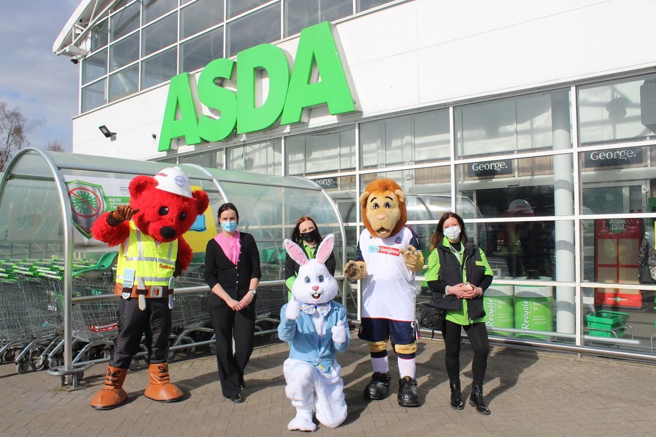 Easter Eggs at the Bolton store. | Asda Bolton