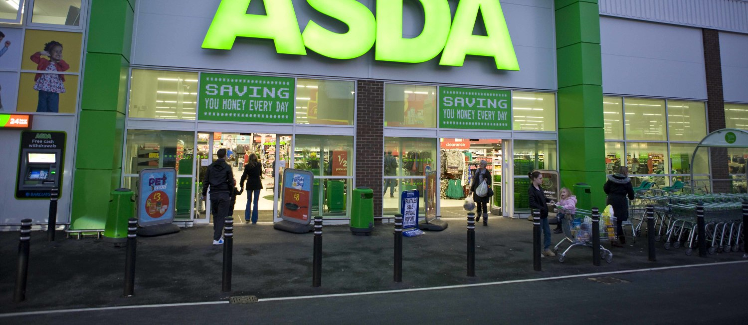 Asda store front, United Kingdom