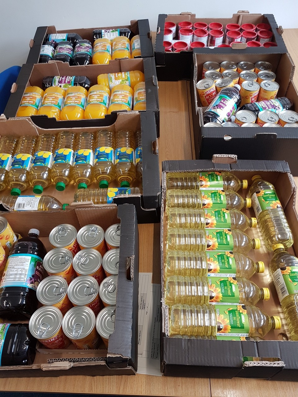 Food pantry support | Asda Pilsworth