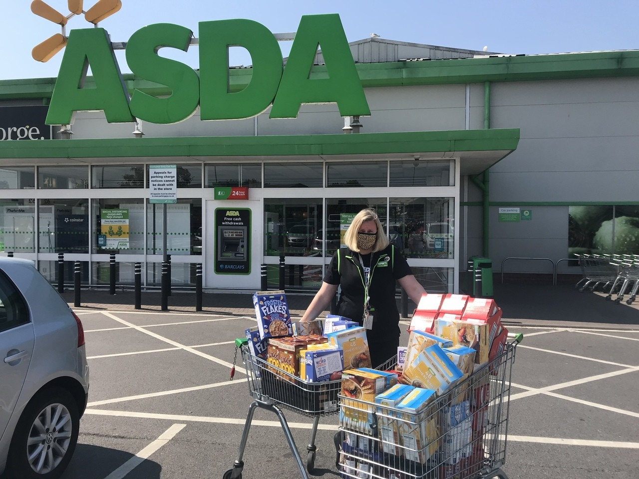 Breakfast donations | Asda Gillingham