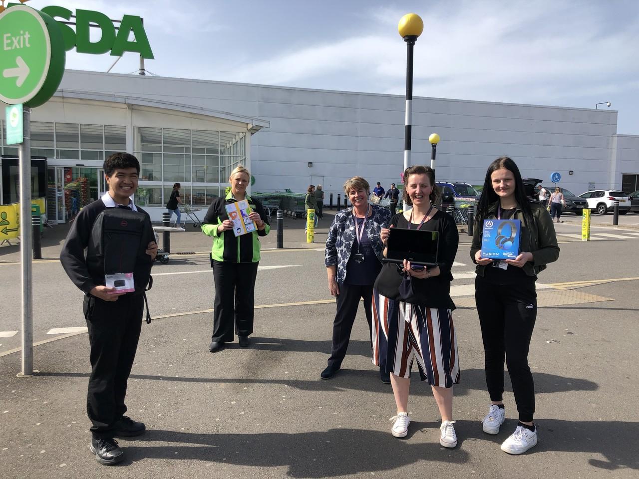 Laptops for St Martin's School | Asda Derby