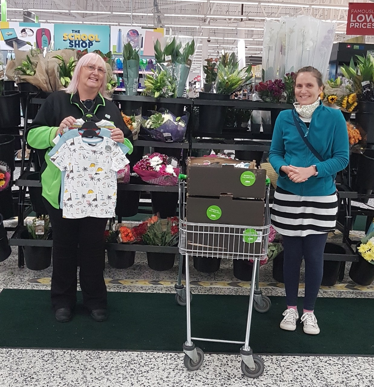 Donation of baby products to theKidStuff project | Asda Pilsworth