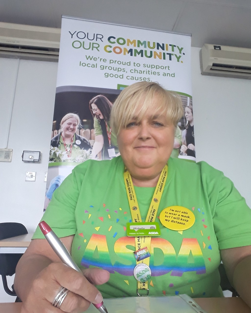 Zoom meeting with WI | Asda Gosforth