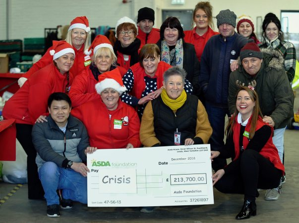 Asda Foundation grant to Crisis