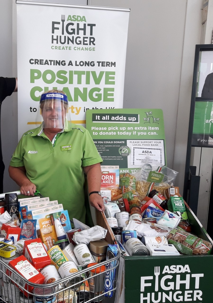 Foodbank support | Asda Gosforth