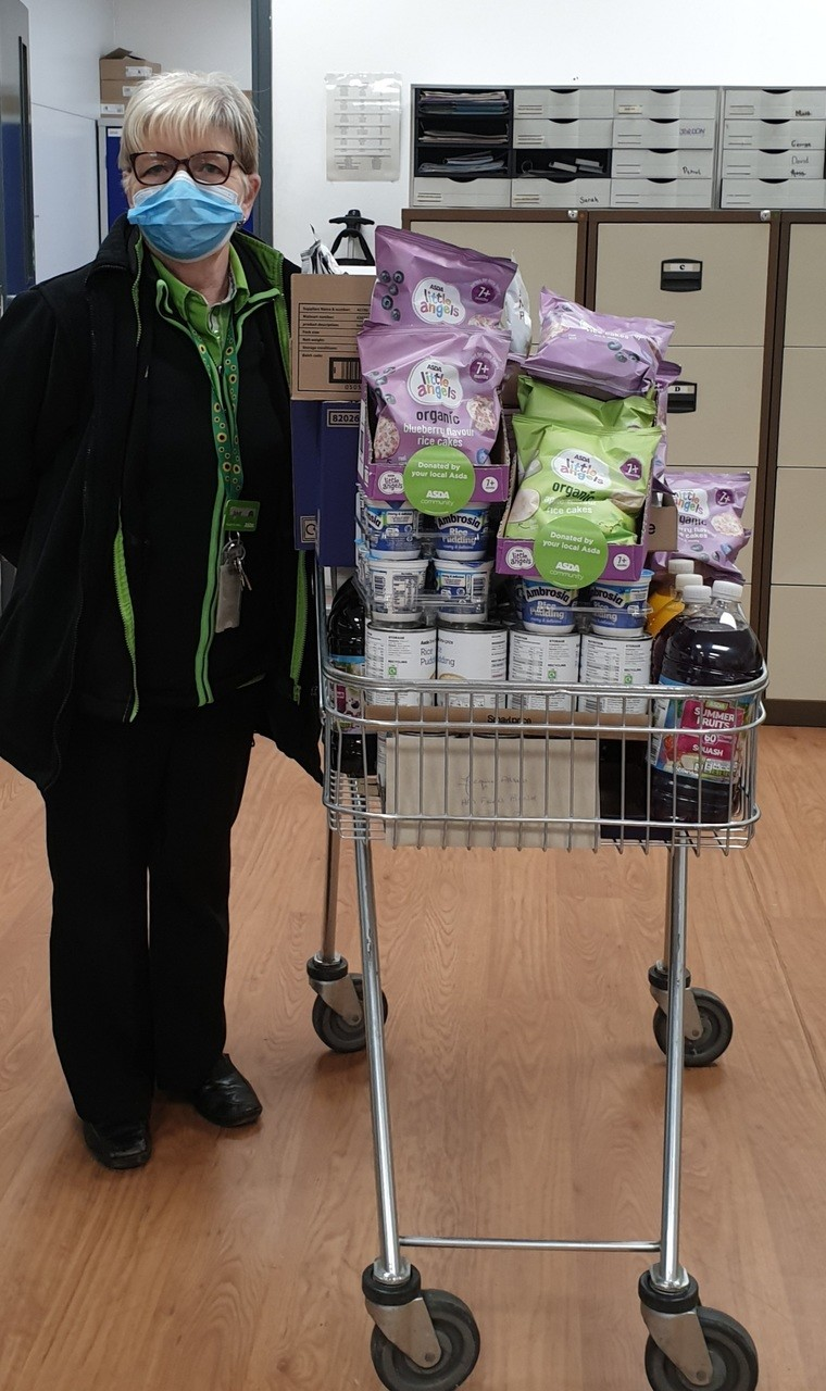 Help for Hereford Food Bank with much needed essentials | Asda Hereford