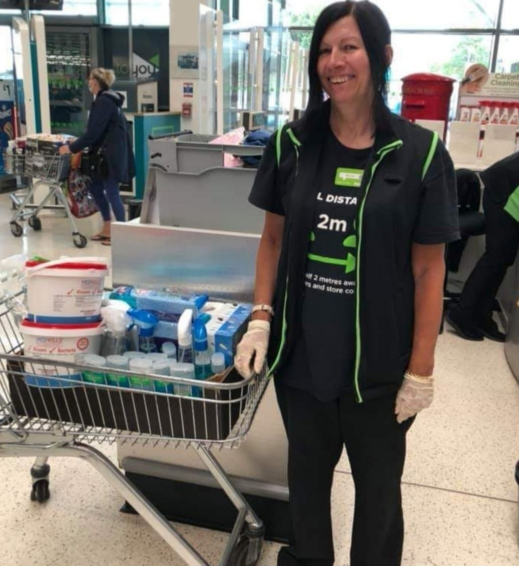 Cleaning products for our local playgroup | Asda St Leonards on Sea