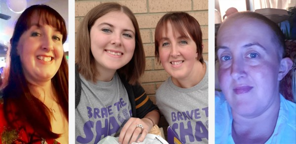 Dannii Connah from Asda Kingswood took part in Brave the Shave for Macmillan
