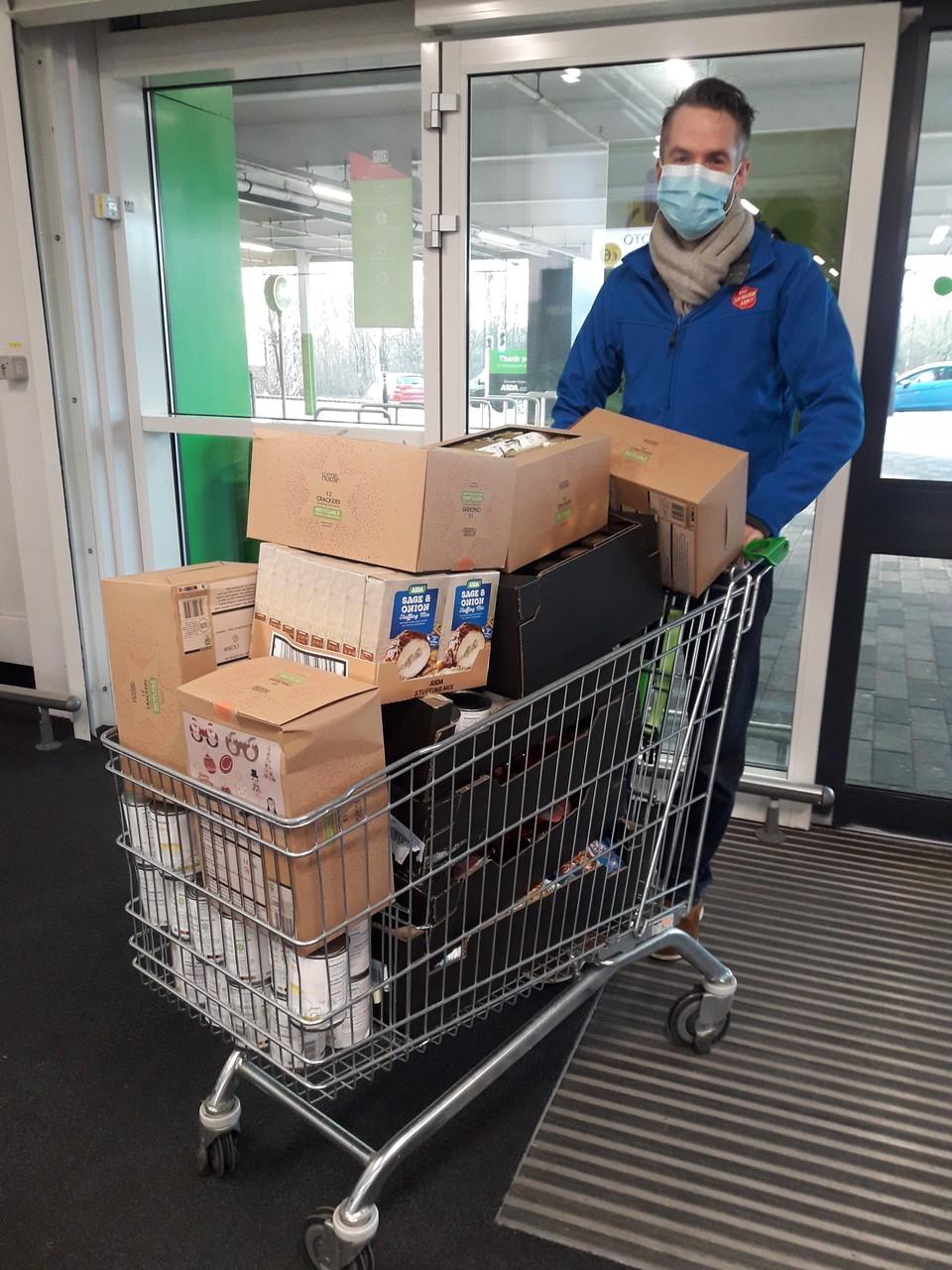 S20 Food Bank donations | Asda Sheffield Drakehouse