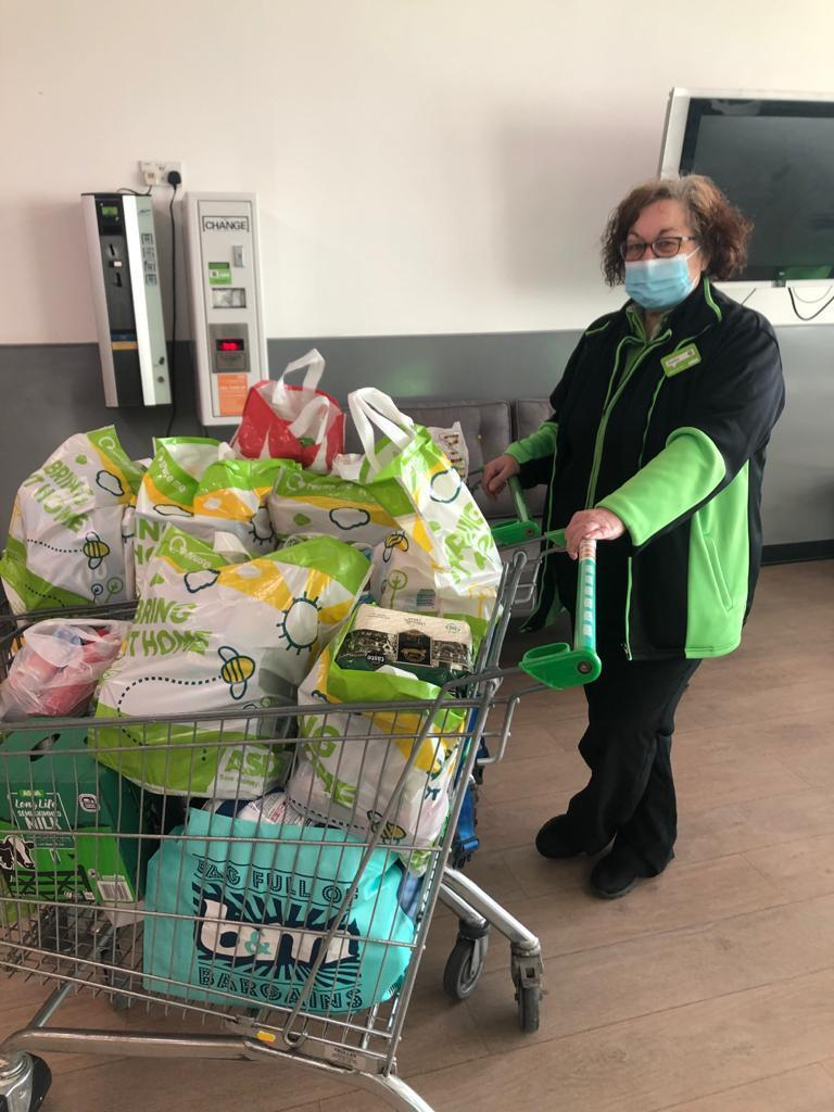 Foodbank donation | Asda Hartlepool