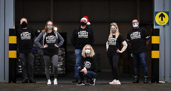 Asda Leeds home office help Leeds City Council make Christmas hampers
