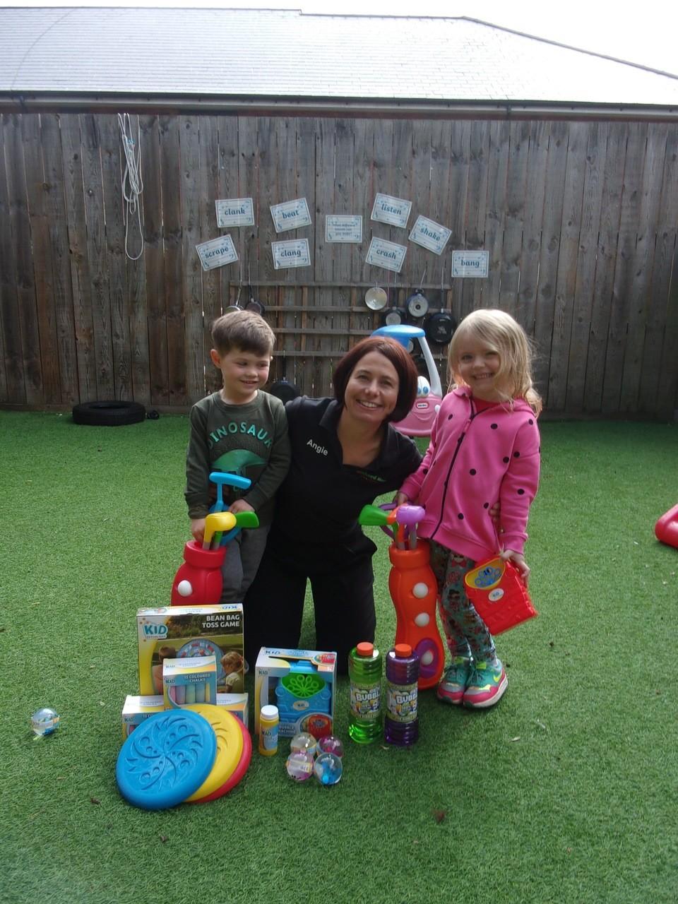 Orchard House Pre School donation! | Asda Ware