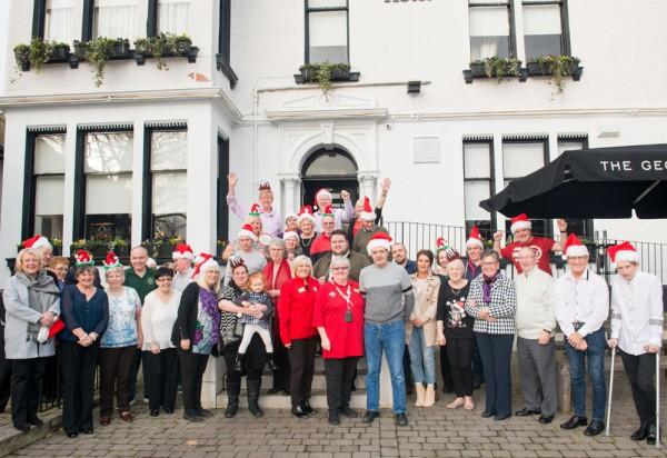 Ann Binks from Asda Coatbridge organised a thank you lunch for volunteers