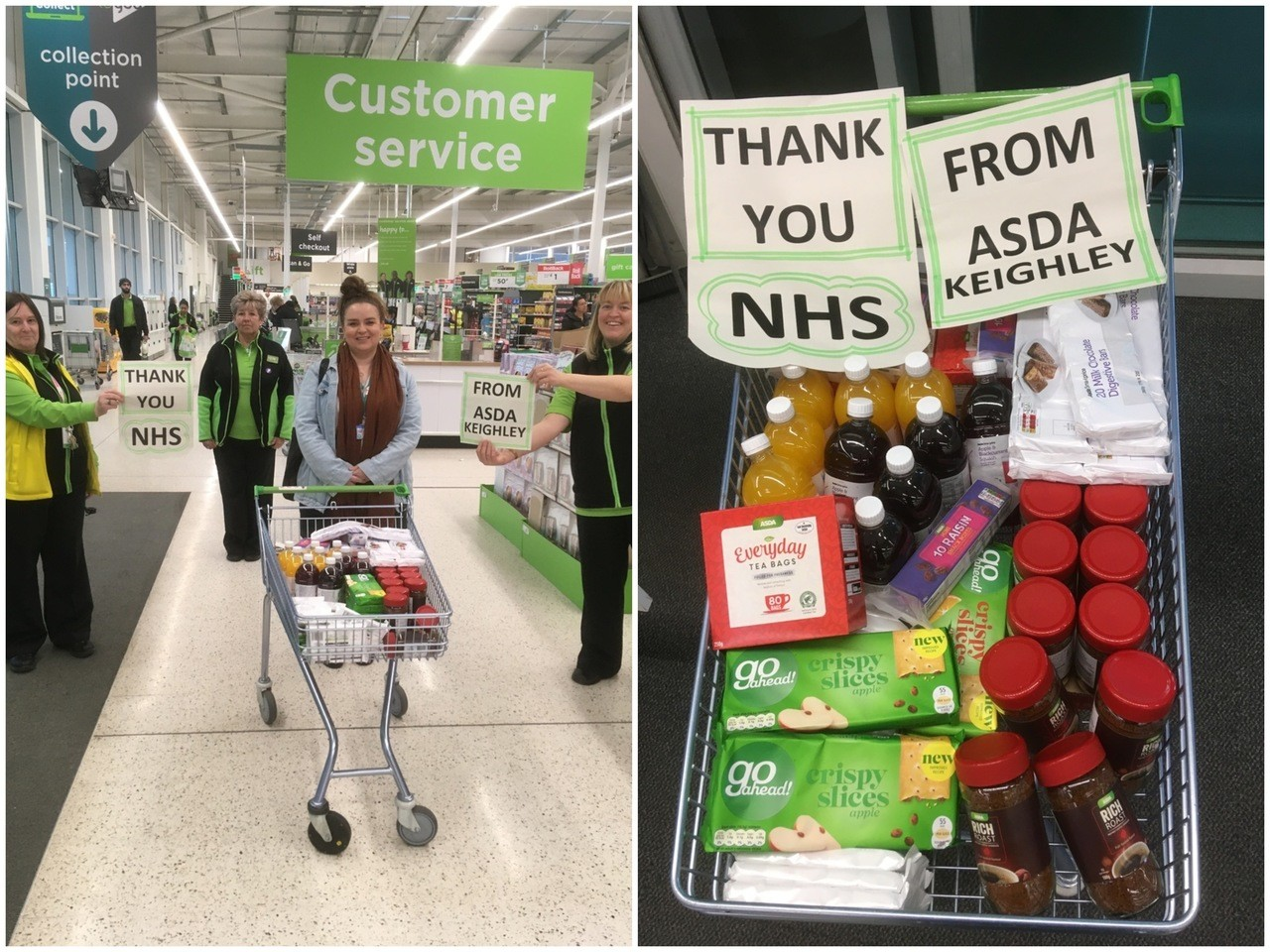 Thank You NHS 💙💙💙 | Asda Keighley