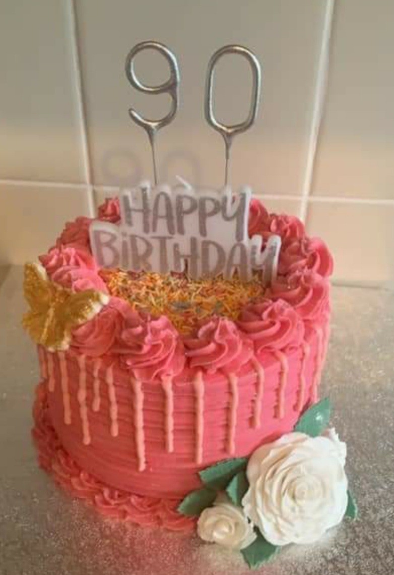 90th birthday wishes to Audrey | Asda Cramlington