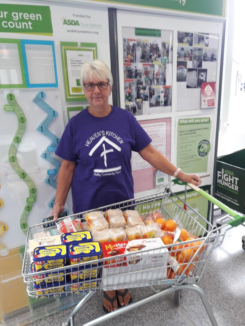 Food donation to the homeless | Asda Sedgley