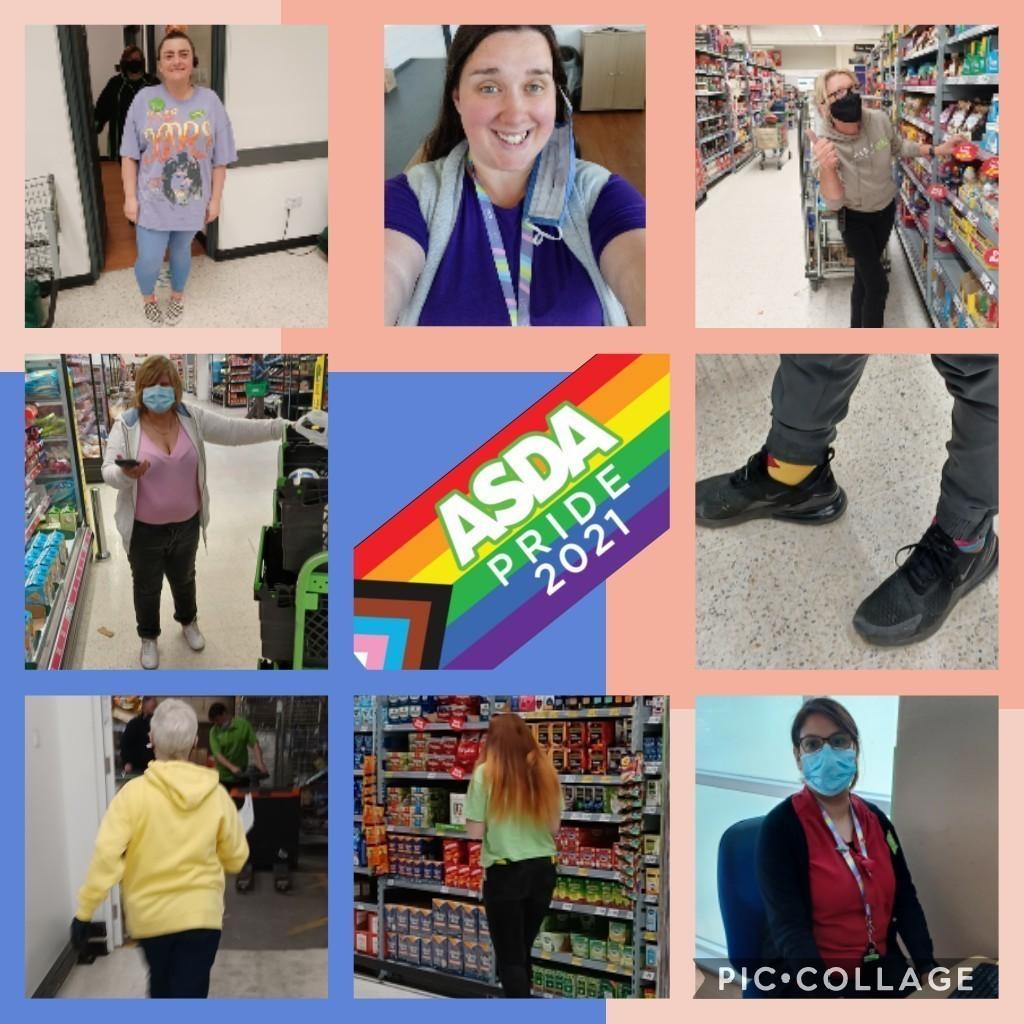 Celebrating Pride   Asda Clydebank