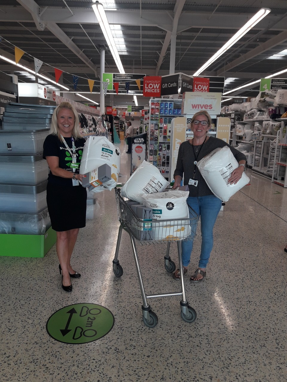 Store donation to Atal y Fro - Domestic Violence & Abuse Services.  | Asda Barry